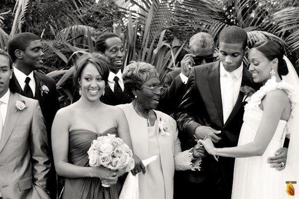 Tia Mowry&Cory Hardrict Gorgeous California Wedding