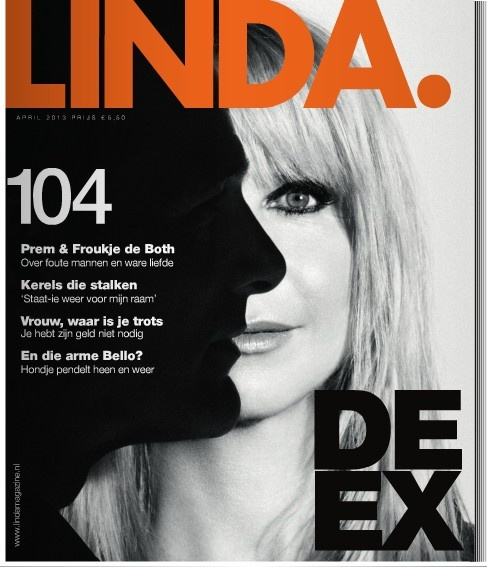 Linda magazine cover. Netherlands