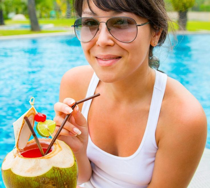 Cocktails with Coconut Water
