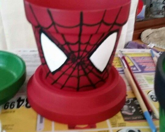 Terra cotta spiderman