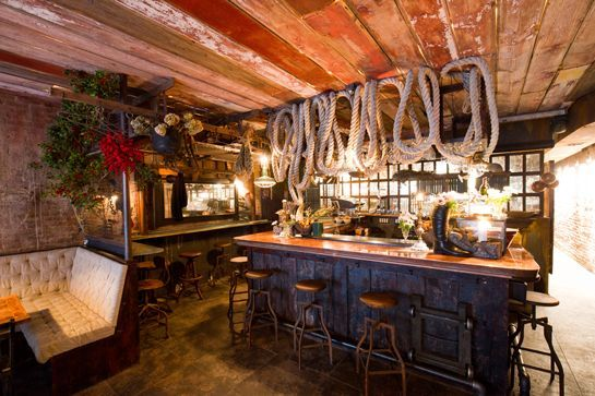 Best East Village Restaurants - Downtown NYC Guide Edi & The Wolf, 102 Avenue C (at East Seventh Street); 212-598-1040.