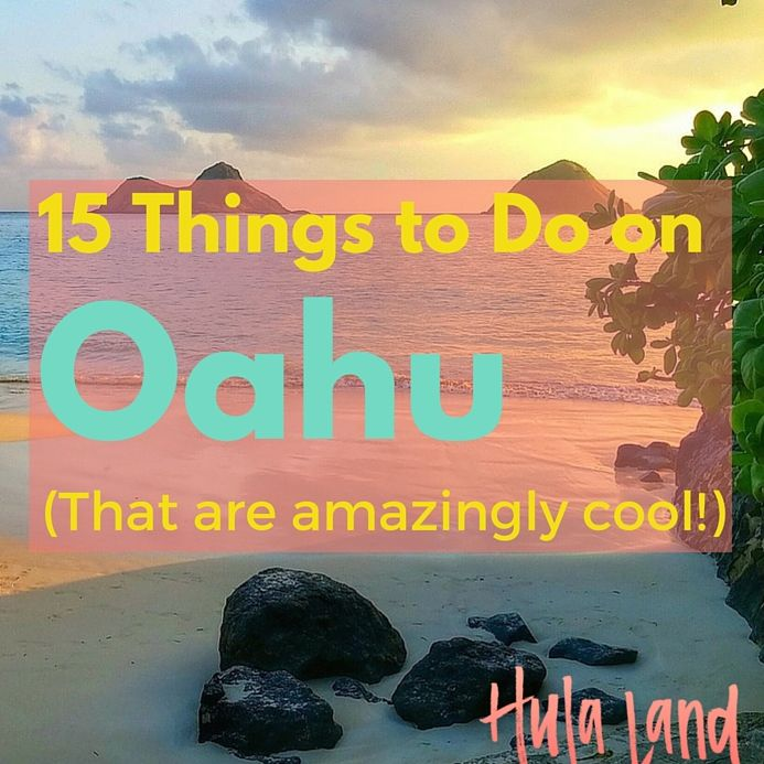 FacebookTwitterPinterestStumbleUpon Aloha! Thinking about heading to Hawaii? Most people end up on Oahu (Honolulu & Waikiki) because of the great flight options. As Hawaii's main island (but not the biggest!) there is sooooo much to do here! Here's 15 things that you definitely shouldn't miss: 1.Take surfing lessons at Waikiki. Surfing has a long and …