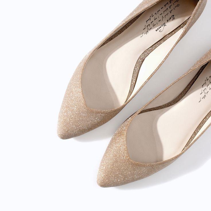 Flade sko: Zara 459 kr.