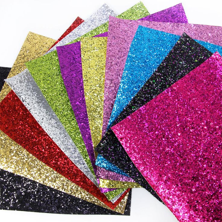 """Available by the sheet 34cm x 20cm. (7.87"""" x 13.38""""). Glitter fabric is heavy cotton that is covered with glue then a generous layer of glitter is smothered over the top. NEW ADDED COLOURS - Fine Glitter Fabric.   eBay!"""