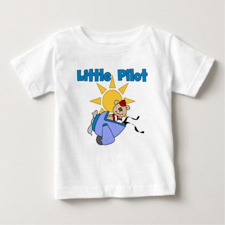 Bear Little Pilot T-shirts and Gifts - tap, personalize, buy right now!