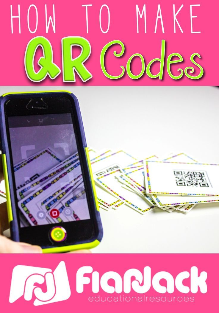 Easy tutorial on how to make QR codes and add them to teacher-created resources.