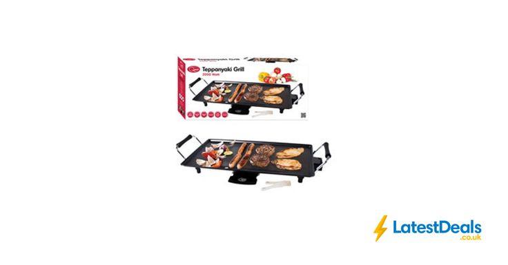 Quest Electric Teppanyaki Grill 2000W Free C&C, £15 at Wilko