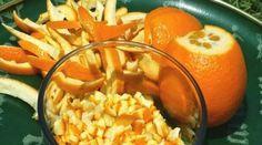 L'orange est un des fruits les plus délicieux et les plus consommés. Mais que faites-vous des écorces de vos oranges ? La plupart des gens les jettent à la poubelle. C'est dommage car