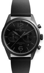 Bell & Ross Vintage Original Br 126 Carbon Mens Watch Br-126-Original-Phantom
