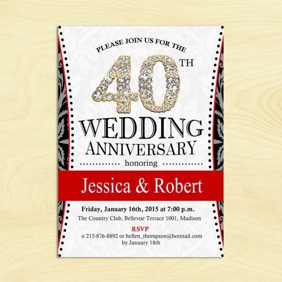 17 best ideas about 50th Wedding Anniversary Invitations on – Wording for 50th Wedding Anniversary Invitations