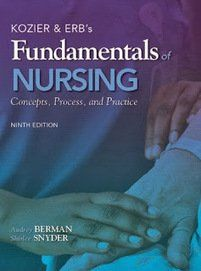 Kozier and Erb's Fundamentals of Nursing, Concepts, Process, and Practice 9th Berman Test Bank Download: Kozier and Erb's Fundamentals of Nursing, Concepts, Process, and Practice 9th Berman Test Bank Price: $19 Published: 2011 ISBN-10: 0138024618 ISBN-13: 978-0138024611