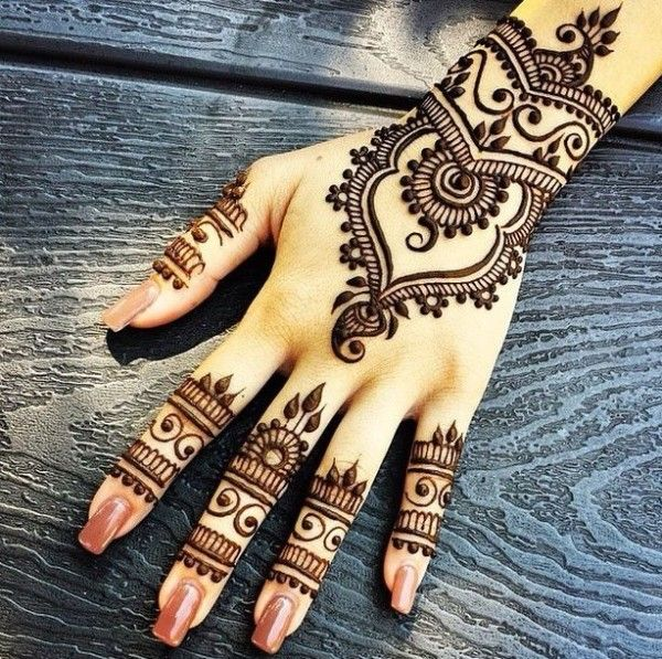 Beginner Henna Designs #Arabic #Bridal #Indian #MehndiDesigns