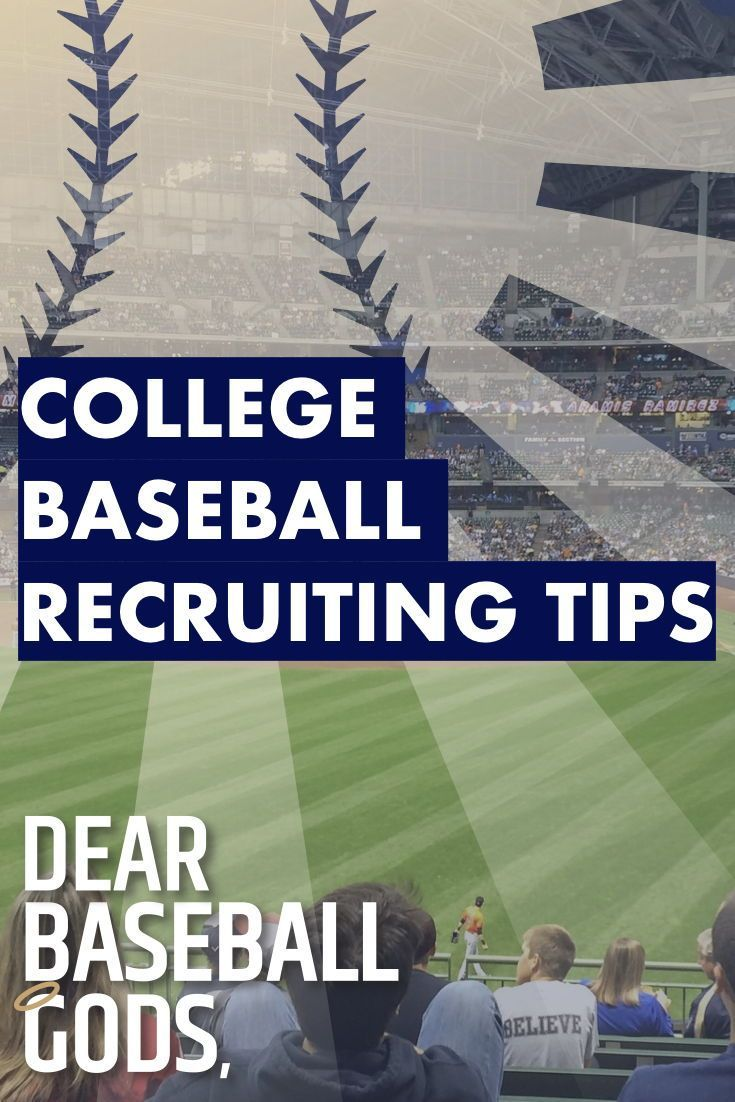 Learn College Baseball Recruiting Tips In This Video Baseball Workouts Baseball Drills Baseball Training