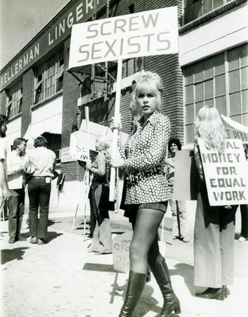 #Screw sexists by Feminism: Women are not decoration artifacts.