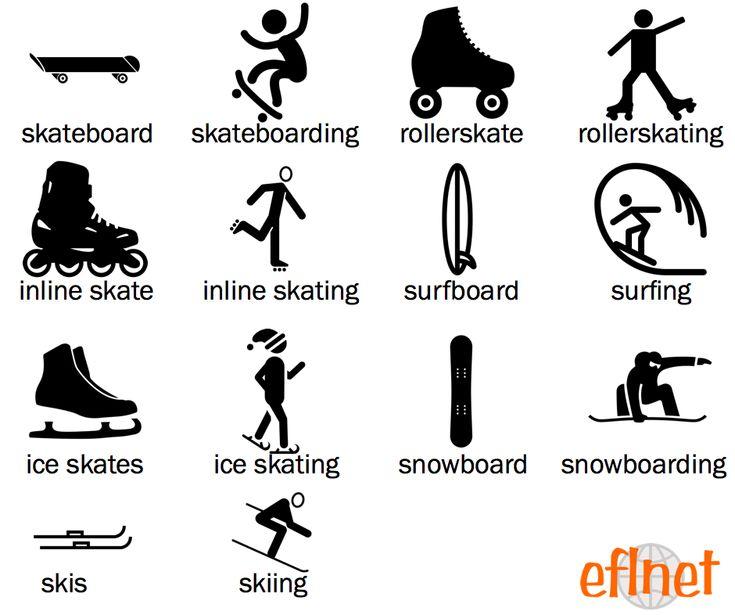 Recreational Activities - Picture Vocabulary Worksheet 1   EFLnet