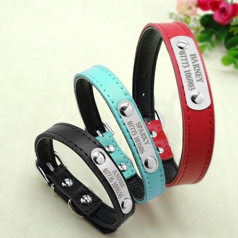 Simple Personalized Dog Collars
