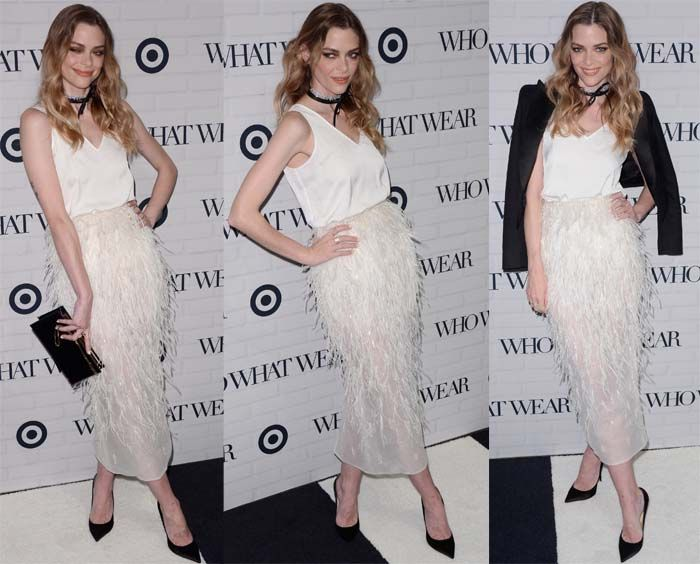 86 best jaime king images on pinterest jaime king celebrations jaime king supports her besties at the who what wear x target launch party in steven kahlil skirt and jimmy choo agnes pumps sciox Choice Image