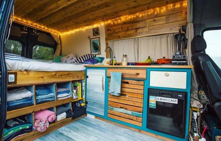Luxury Van Life Interior Design Ideas (13)