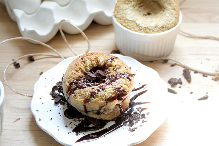 Chocolate Chip Cookie Popovers | She's Becoming DoughMessTic