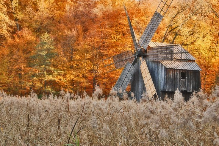 Romanian Windmill by Ricardo Ribeiro on 500px