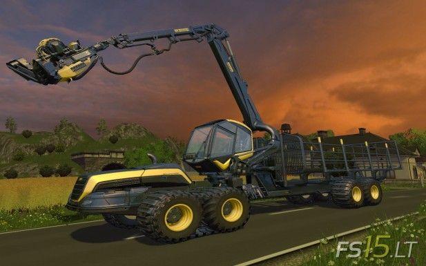 Ponsse Scorpion Forestry Harvester v 1.1 | FS15 mods - FS15.LT