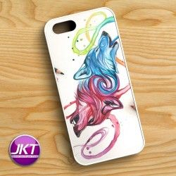 Drawing 002 - Phone Case untuk iPhone, Samsung, HTC, LG, Sony, ASUS Brand #drawing #phone #case #custom #wolf