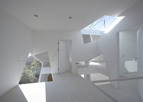 Villa Kanousan of Cubic Voids by Yuusuke Karasawa Architects