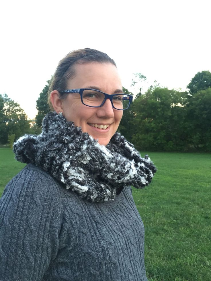 A personal favorite from my Etsy shop https://www.etsy.com/ca/listing/480903123/cozy-cowl