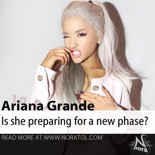 Is Ariana Grande changing her career path?