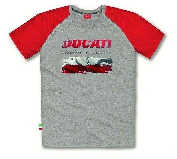 Limitowana edycja koszulki Ducati. Wyjątkowa koszulka Ducati z polską flagą Koszulka została wyprodukowana w limitowanej serii, więc każdy fan Ducati musi ją mieć. #ducati #ducati_koszulka #ducati_limited