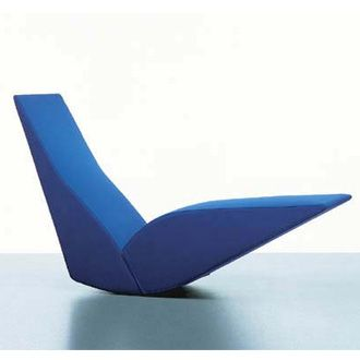 Tom Dixon Bird Chaise Longue With Wooden Structure