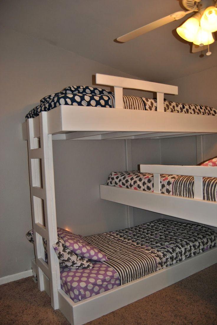 life with mack u0026 macy triple bunk beds