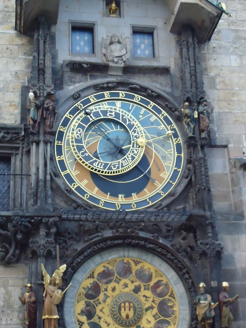 Prague's Clock. I remember pictures of this from when I was a child.