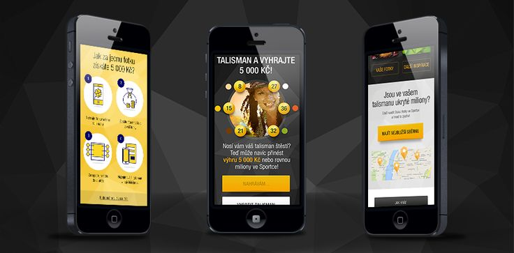 "There are hundreds of on-line #lottery helpers. But only one of them can team up with your personal #talisman! For #Sazka, we developed a #mobile #web that allows you to squeeze out ""lucky numbers"" out of your talisman and win 5 000 CZK."