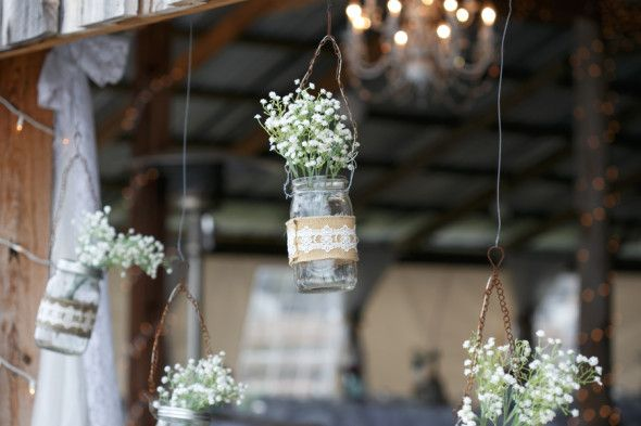 Wedding Ideas Using Mason Jars: 185 Best Mason Jar Wedding Ideas Images On Pinterest