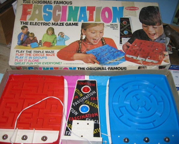 The Fascination Electronic Maze Game The 50s 60s 70s