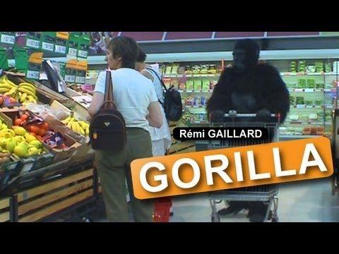 ▶ Gorilla (Rémi GAILLARD) - YouTube