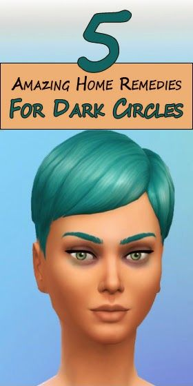 Skin Care And Health Tips: 5 Amazing Home Remedies For Dark Circles