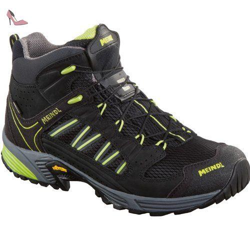Meindl , Chaussures de course pour homme Schwarz/Lemon Taille 43 - Chaussures meindl (*Partner-Link)