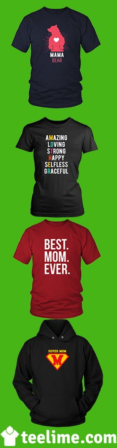 Mother's Day gift Ideas. Show your love with a shirt that she will love. Different styles and Colors Available by Teelime. We also can customize them by your choice. Send us a request here support@teelime.com