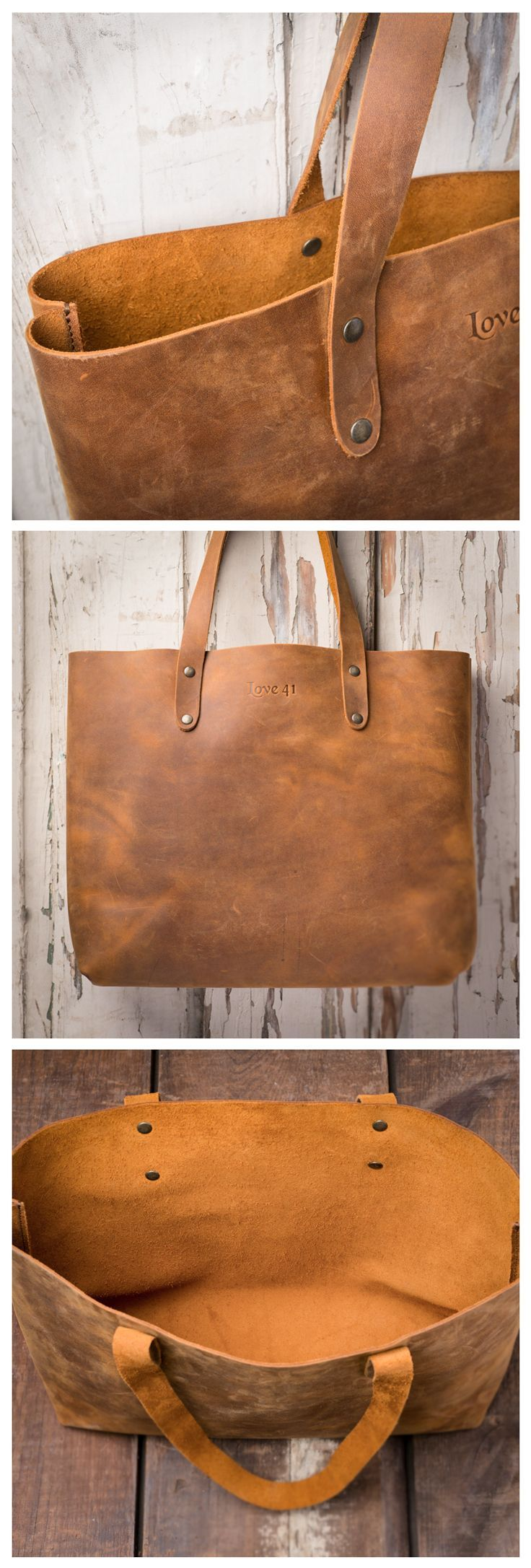 Love 41 has a whole bunch of New Fall Designs including this full grain Simple T...