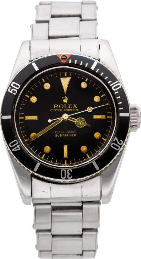 rolex very rare ref 5510 oyster perpetual submariner james bond big crown wristwatch circa. Black Bedroom Furniture Sets. Home Design Ideas