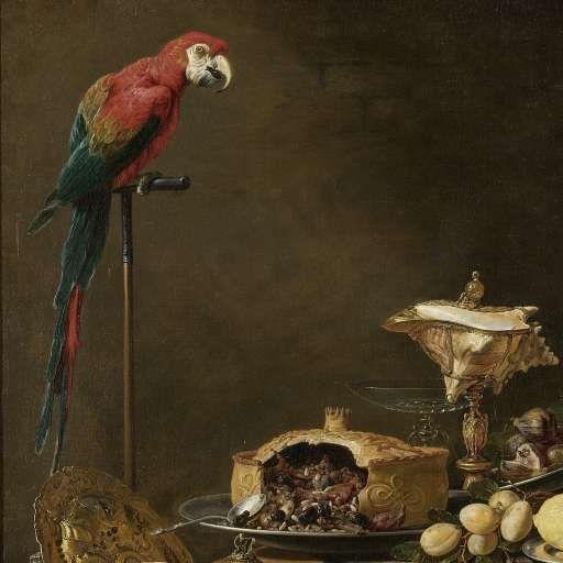 Pronkstilleven, Adriaen van Utrecht, 1644 - still life-Verzameld werk van Miyuki Imasato - Alle Rijksstudio's - Rijksstudio - Rijksmuseum