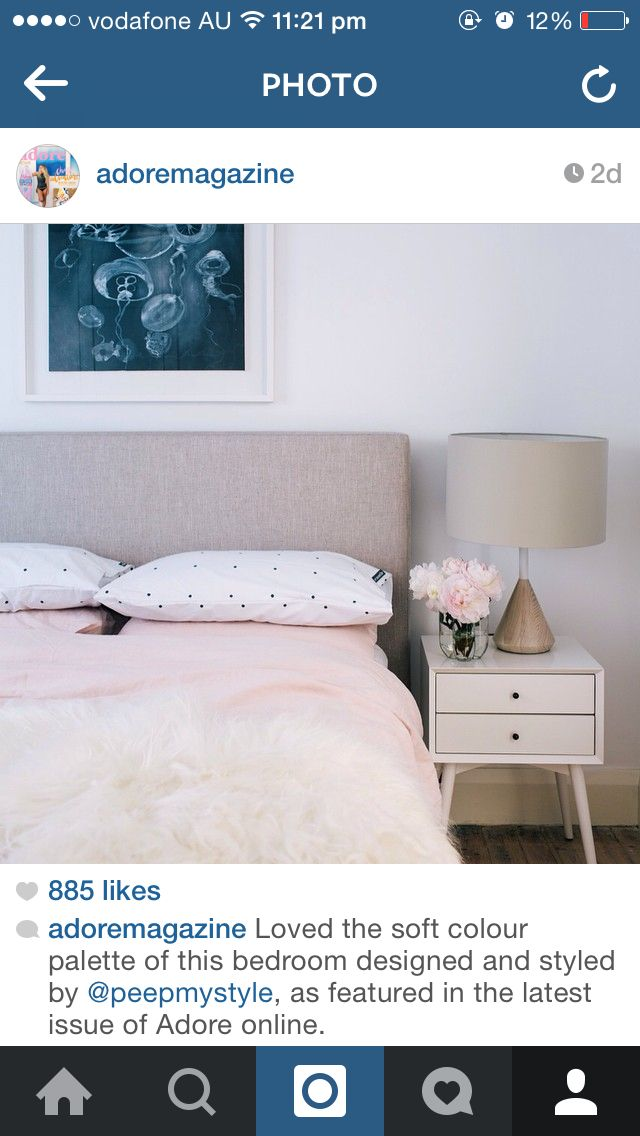 Love the duvet and pillow combination