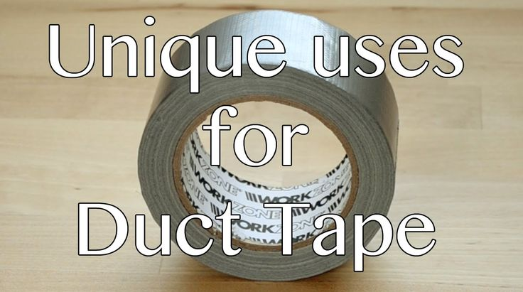 101 uses for Duct Tape - Parody Ad