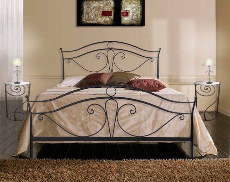 Elegantes Metallbett VIENA. Ihr Online-Shop für Design Betten aus Schmiedeeisen.