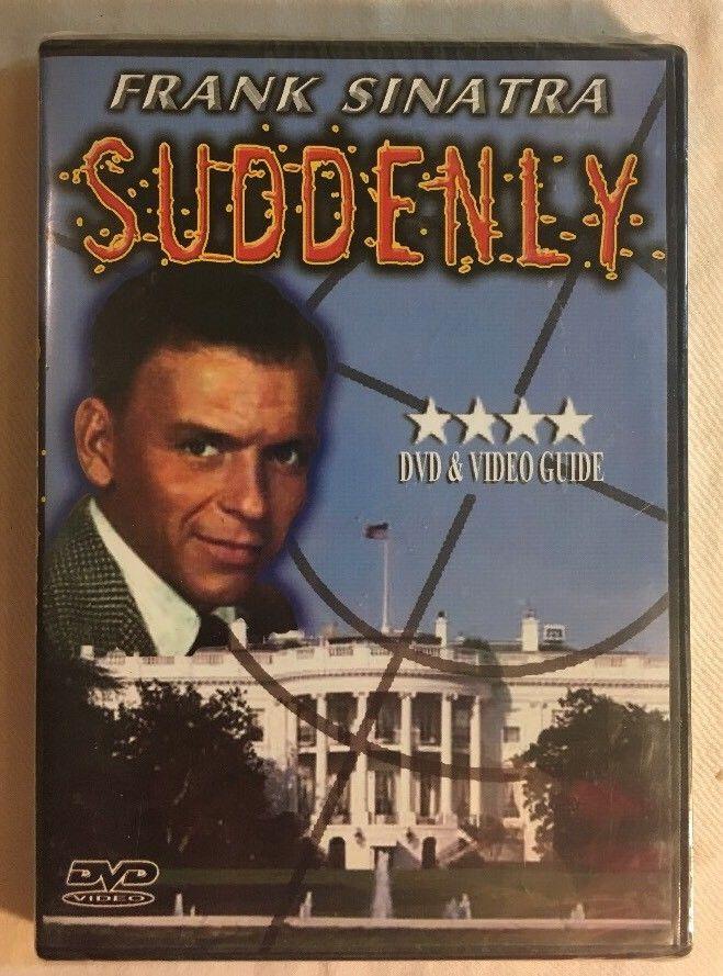 Suddenly DVD Frank Sinatra Sterling Hayden B/W Brand New Sealed!