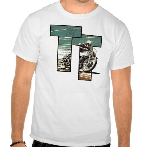 TT Racer on AJS T-shirt