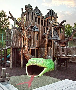 Best Slides Images On Pinterest Playgrounds Playground - 15 of the worlds coolest playgrounds