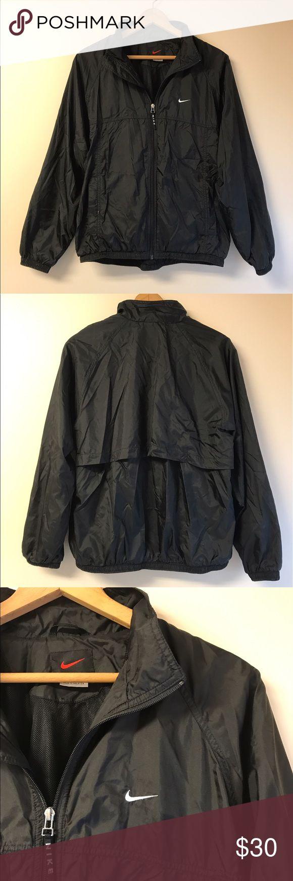 Nike jacket in chinese - Nike Vintage Full Zip Windbreaker